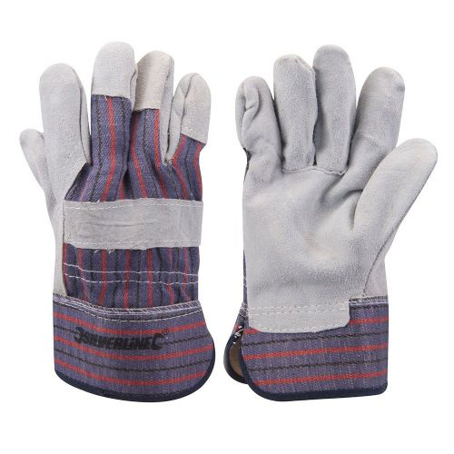 Silverline 633501 Expert Rigger Safety Work Gloves Large